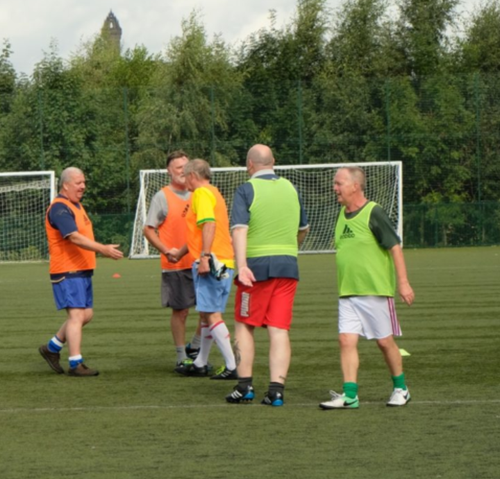 Over 50s Walking Football - Stirling